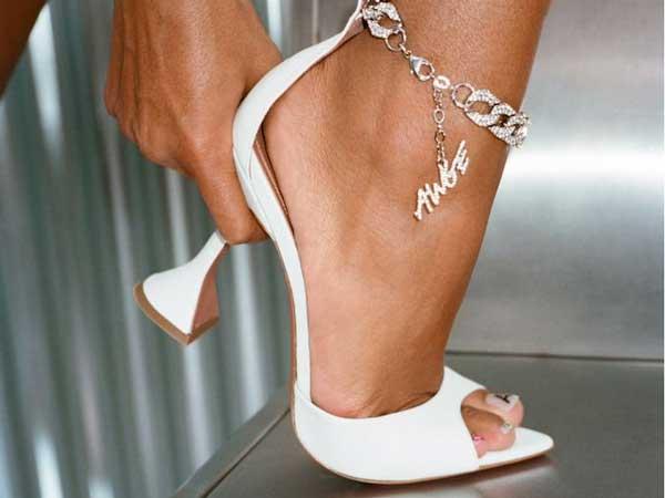Awge les Chaussures Amina Muaddi & Asap Rocky