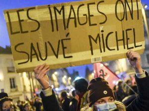 Manifestations suite à l'agression de Michel Zecler