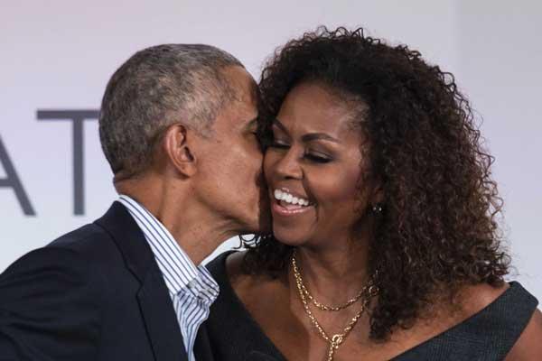 """Michelle Obama fête ses 57 ans... """"Joyeux anniversaire mon amour"""""""
