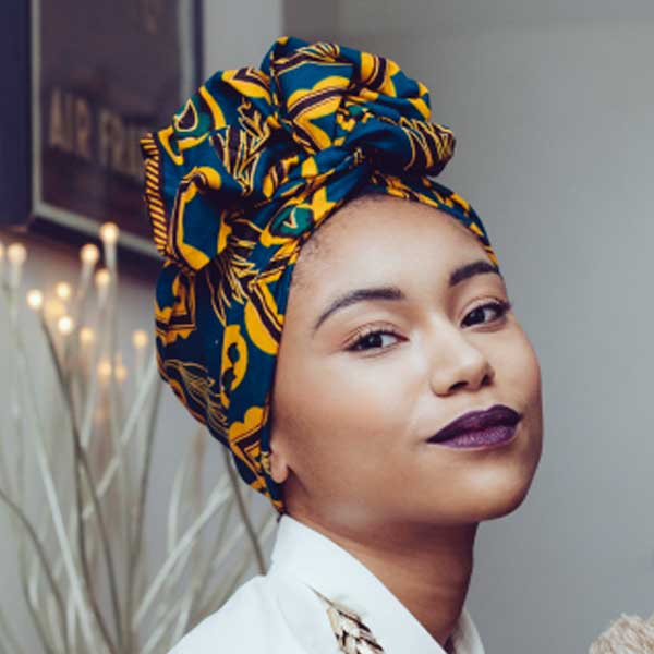 7 coiffures protectrices: le head wrap
