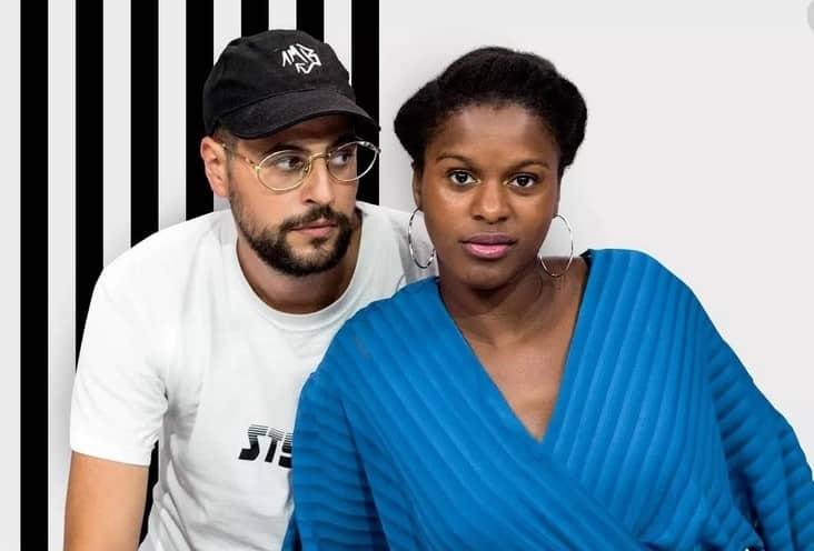 Fadily Camara et son mari Hakim Jemili